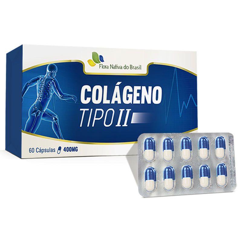 Colágeno Tipo 2 - UC II - Original - 400mg - 60 cápsulas