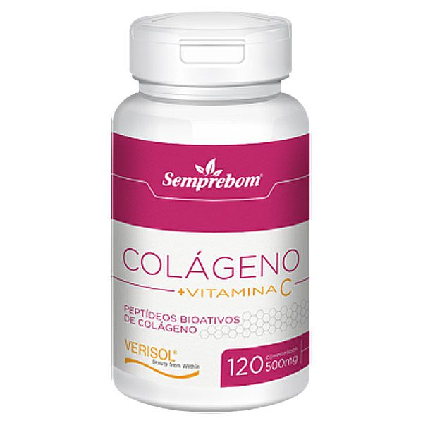 Colágeno Verisol + Vitamina C - 120 comprimidos de 500mg  - LA Nature