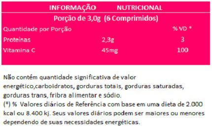 Colágeno Verisol + Vitamina C - 500mg - 3 Potes  - LA Nature