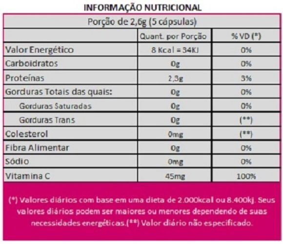 Collagen Care Colágeno Tipo 1 Bioativo Verisol + Vitamina C - 01 Pote  - LA Nature