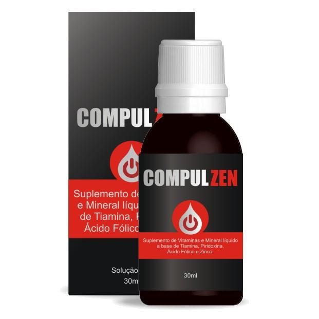 CompulZen Anti Álcool - Original - 01 Frasco