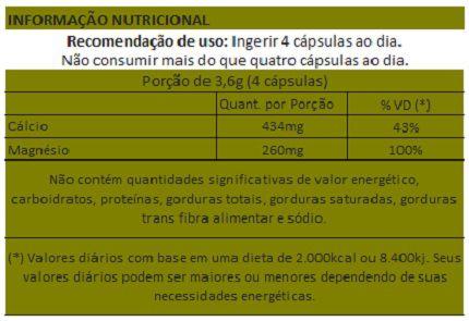Dolomita - 60 cápsulas de 900mg  - LA Nature