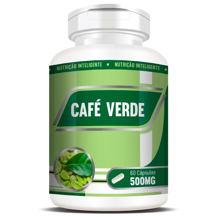 Emagrecedor Café Verde Green Coffee 500mg - 60 cápsulas
