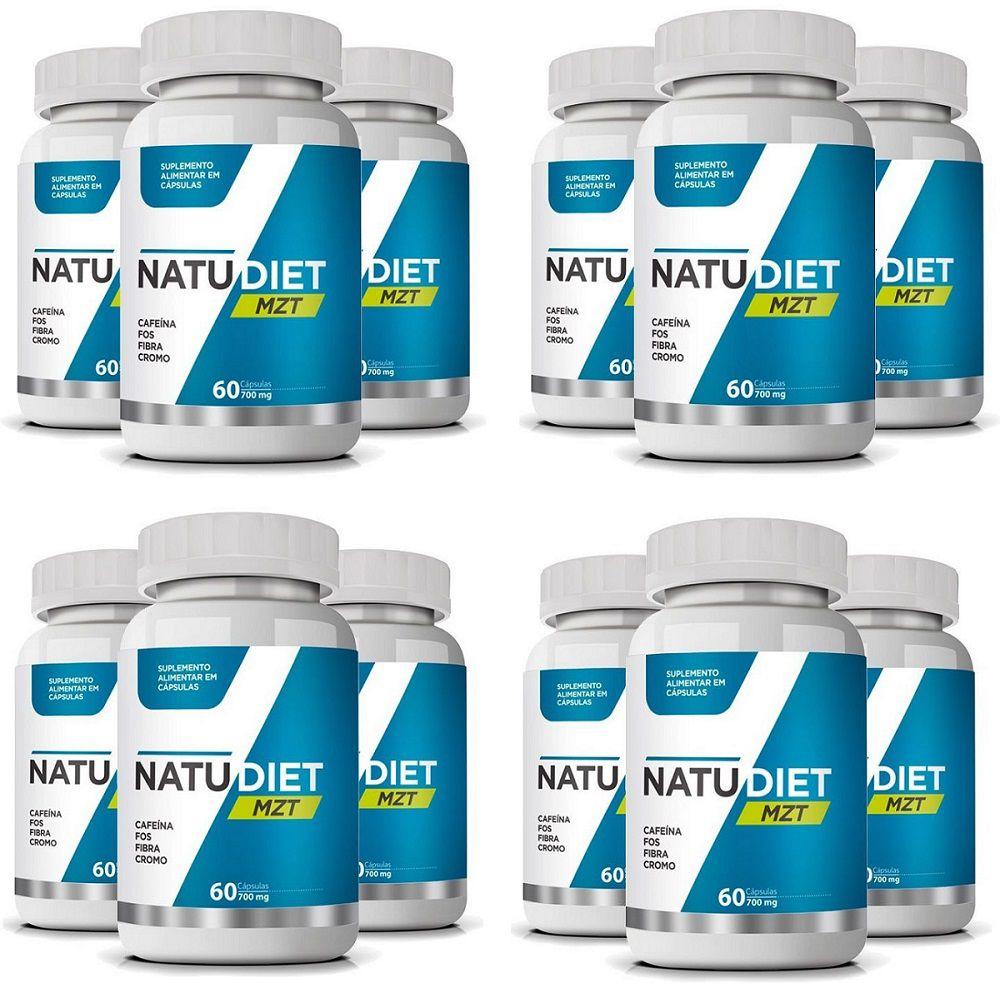 Emagrecedor Natu Diet MZT 700mg Original - Atacado 12 UN  - LA Nature