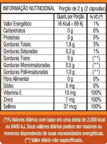 Estimulante Sexual Seniors Power Original 1000mg - 3 Potes - LA Nature