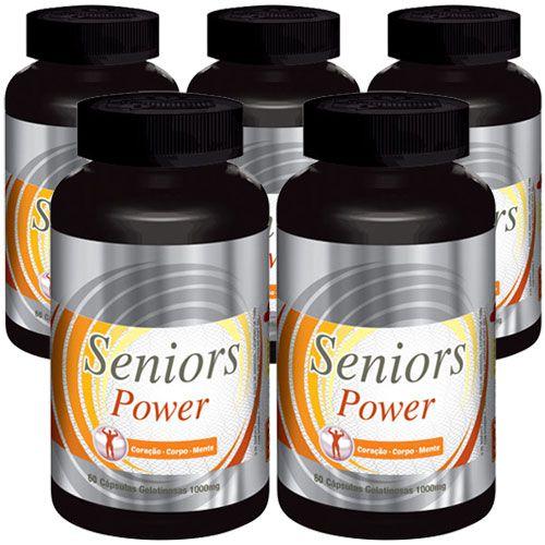Estimulante Sexual Seniors Power - 05 Potes (Original)  - LA Nature