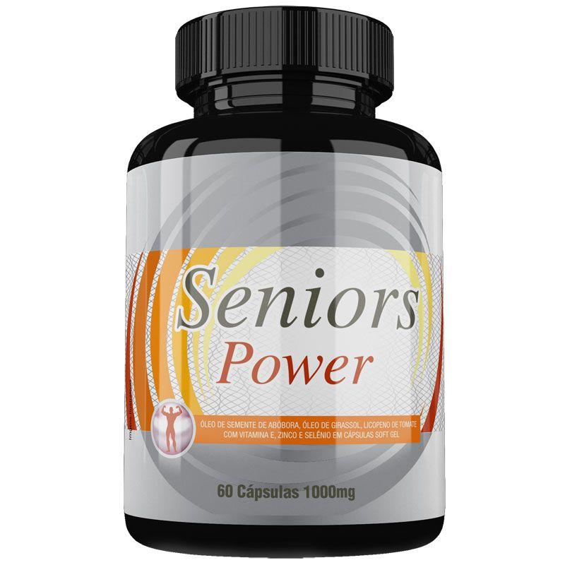Estimulante Sexual Seniors Power Original 1000mg - 1 Pote  - LA Nature