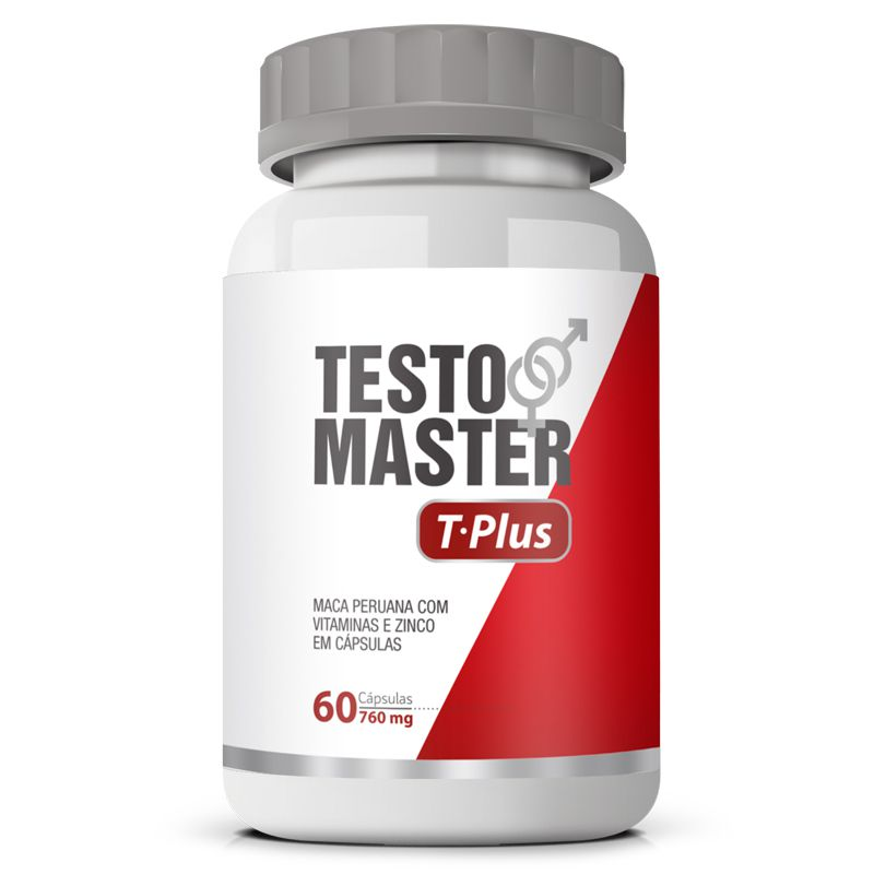 Estimulante Sexual Testomaster T Plus Original 760mg - 1 Pote  - LA Nature