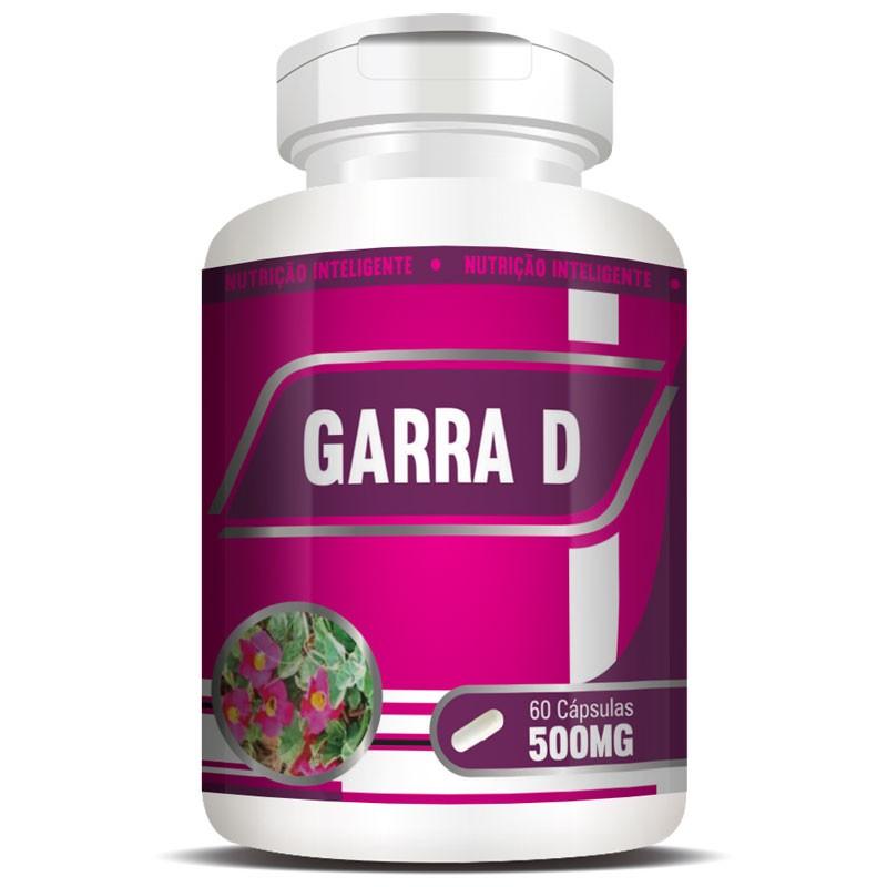 Garra D 500mg - Garra do Diabo - 100% Pura - 60 cápsulas