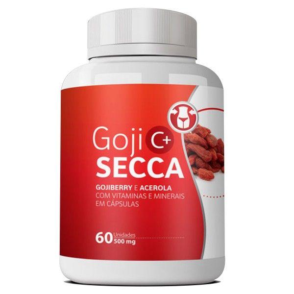 Goji Secca C+ Emagrecedor | Original - 500mg | 01 pote   - LA Nature