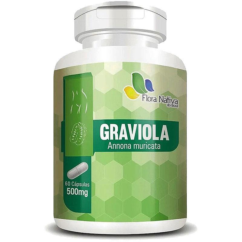 Graviola (Annona Muricata) 500mg - A Legítima - 60 cápsulas