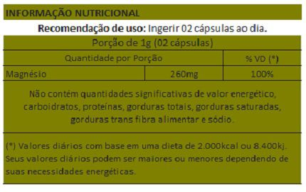 Magnésio Dimalato 500mg - 3 Potes  - LA Nature