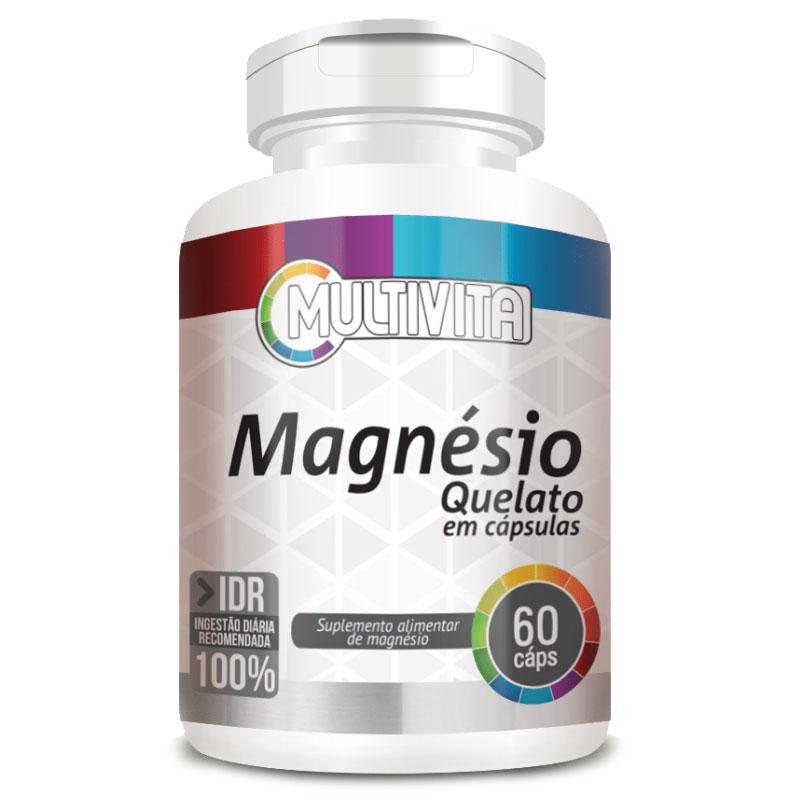 Magnésio Quelato 250mg - 60 cápsulas