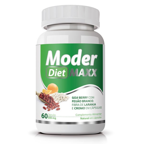 Moder Diet Maxx - Emagrecedor | Original | 500mg - 01 Pote  - LA Nature