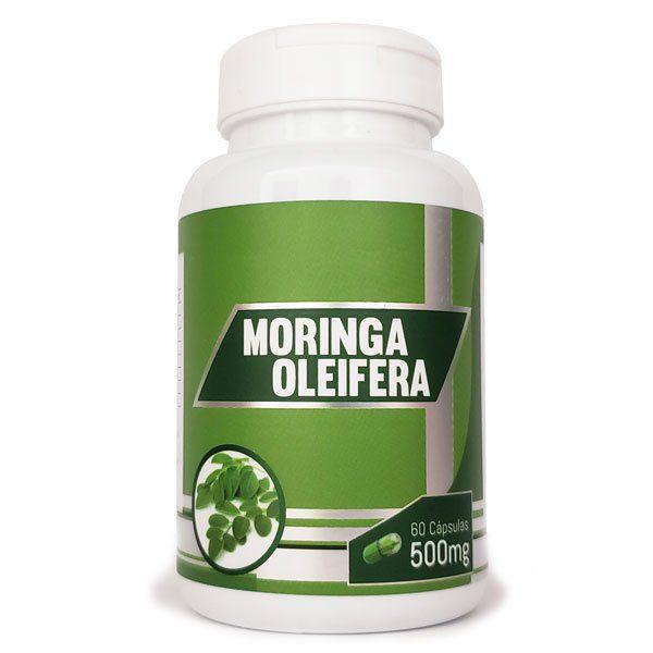 Moringa Oleifera - Original - 500mg - 60 cápsulas  - LA Nature