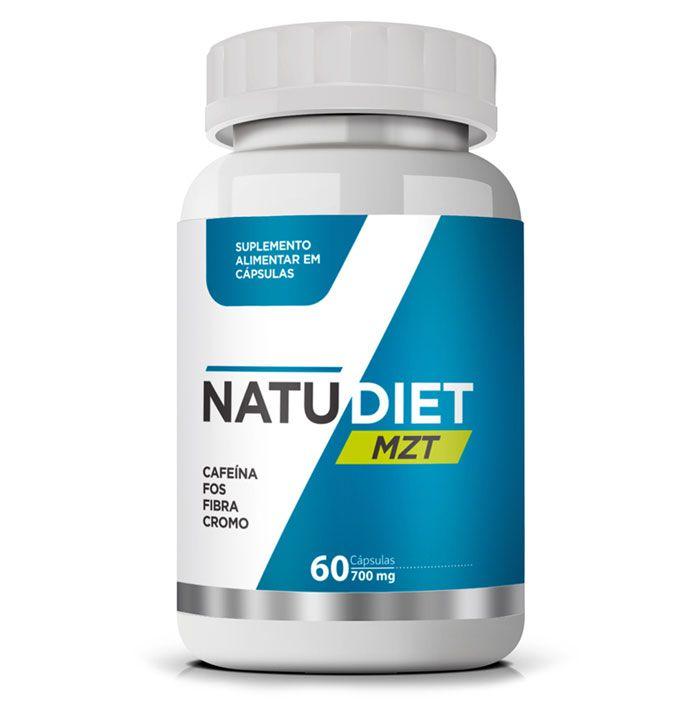 Natu Diet MZT - Original - 60 cápsulas de 700 mg - Emagrecedor Seca Barriga  - LA Nature