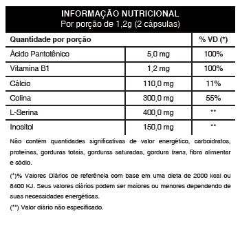 Nootrozyme Original 720mg Cápsula da Inteligência - 01 Pote  - LA Nature