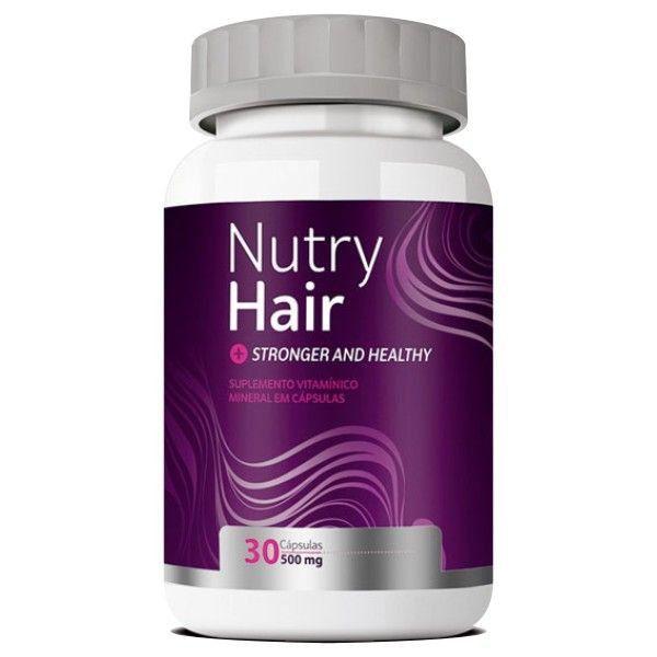 Vitamina para Cabelo - Nutry Hair 500mg - 01 Pote (Original)