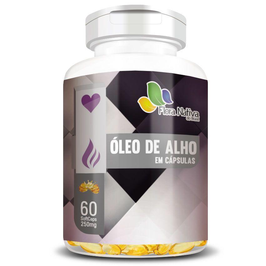 Óleo de Alho - 60 cápsulas de 250mg - Original  - LA Nature