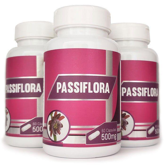 Passiflora Original - 500mg - 03 Potes  - LA Nature