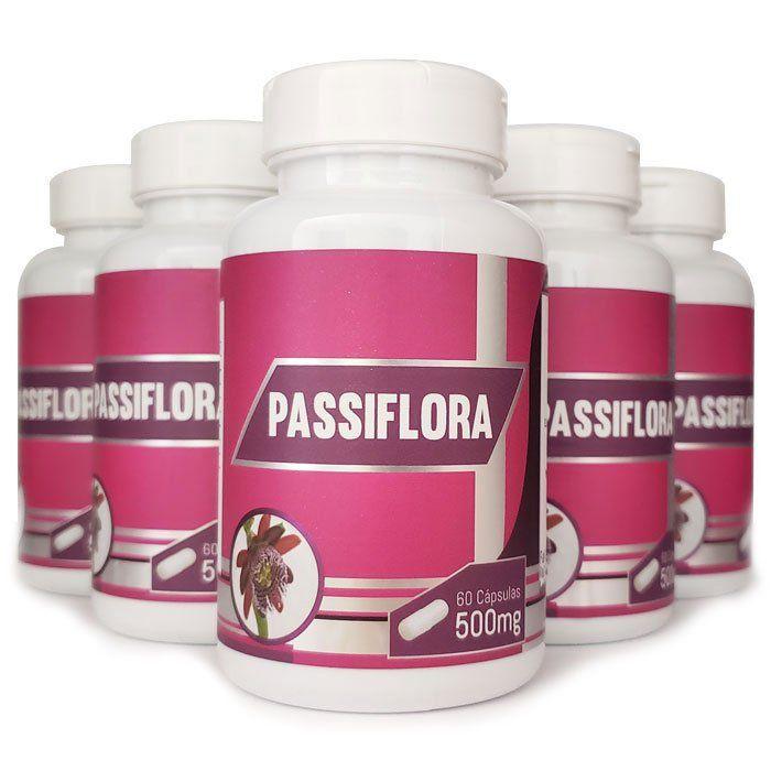 Passiflora Original - 500mg - 05 Potes  - LA Nature