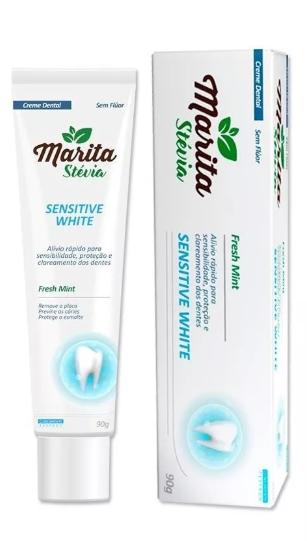 Pasta dental Marita Stévia - Original - 01 Caixa  - LA Nature