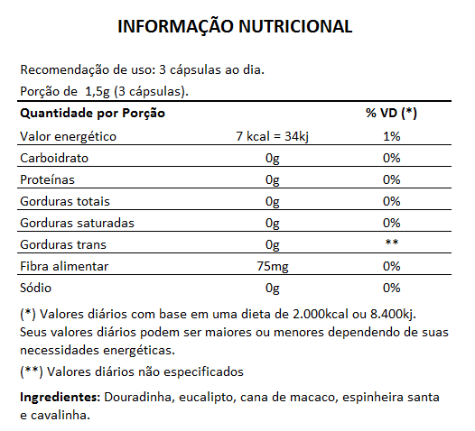 Pro Rins 500mg - 60 cápsulas  - LA Nature