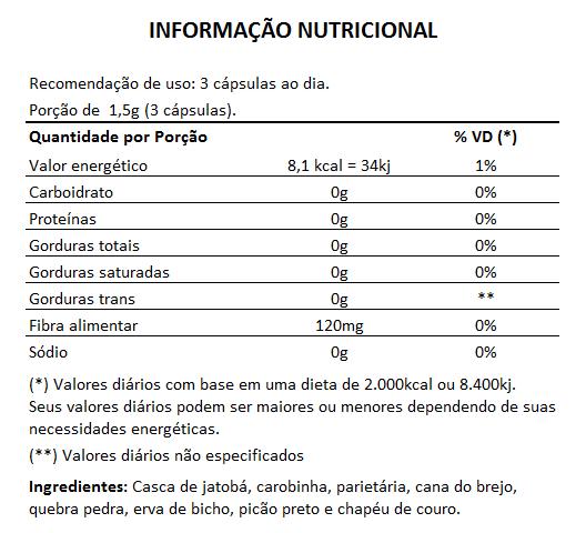 Prostrix 500mg - Saúde da Próstata - 03 Potes com 60 cápsulas  - LA Nature