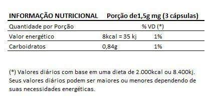 QPR Blend Original 500mg Saúde dos Rins - 3 Potes   - LA Nature