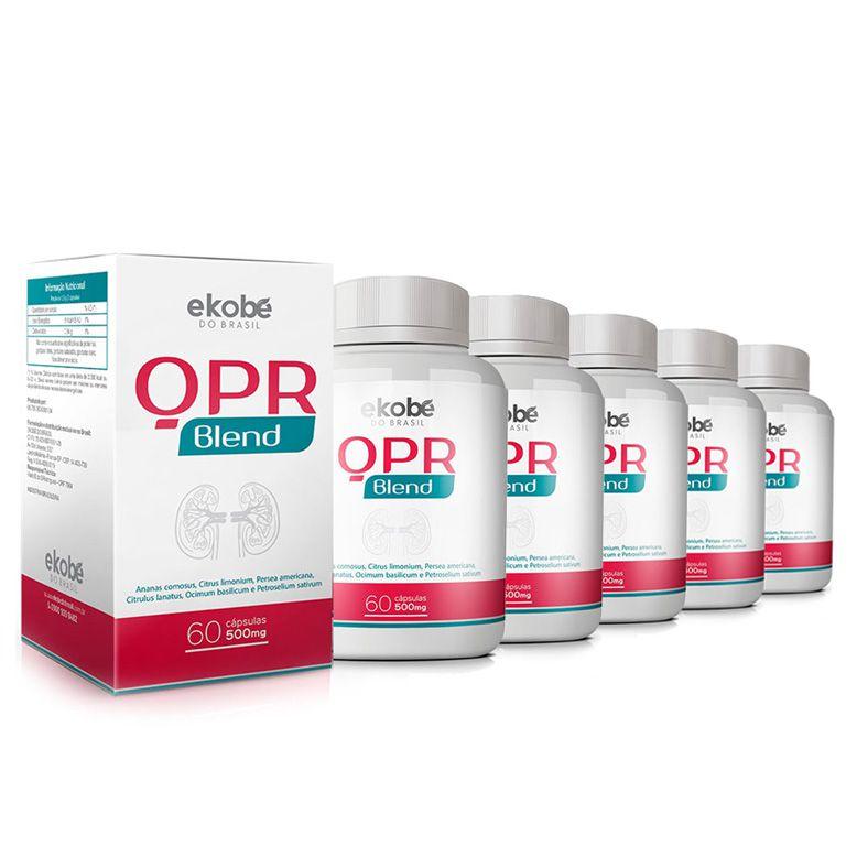 QPR Blend Original - 5 Potes (300 Cápsulas)