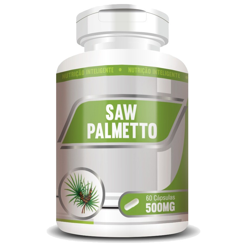 Saw Palmetto 500mg - 100% Puro - 60 cápsulas  - LA Nature