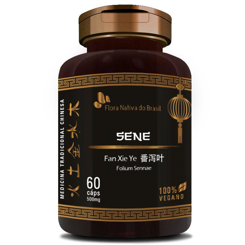 Sene - Fan Xie Ye (Folium Sennae) - 60 cápsulas de 500mg  - LA Nature