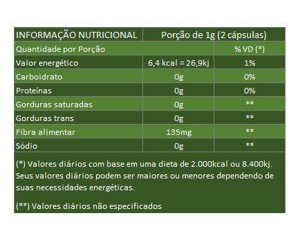 Emagrecedor Spirulina 100% Pura Original 500mg - 01 Pote  - LA Nature