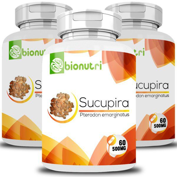 Sucupira - Original - 500mg - 03 Potes  - LA Nature