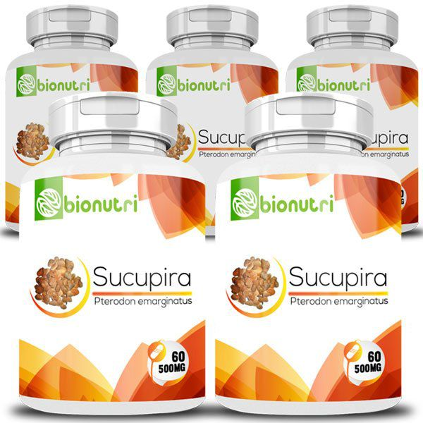 Sucupira - Original - 500mg - 05 Potes  - LA Nature