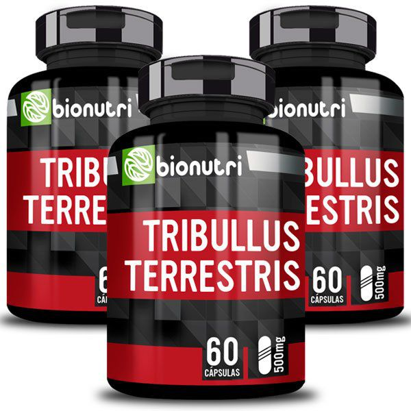 Tribulus Terrestris - Original - 500mg - 3 Potes  - LA Nature