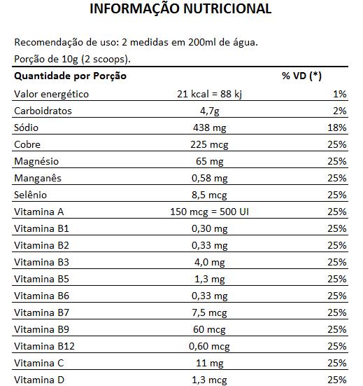 Tribus Maca Efervescente, 200g, Sabor Limão e Salsaparrilha - 0% Zero Açúcar  - LA Nature