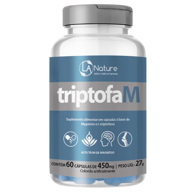 TriptofaM 450mg - 60 cápsulas  - LA Nature