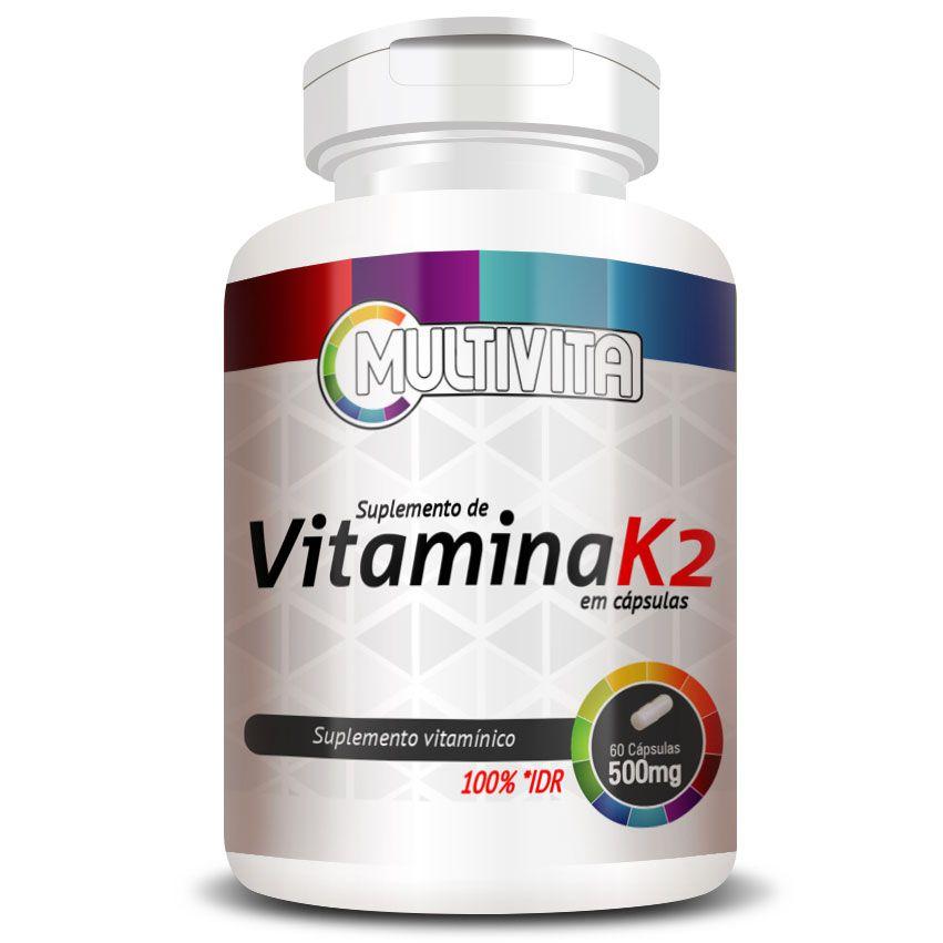 Vitamina K2 - 149mcg - 60 Cápsulas