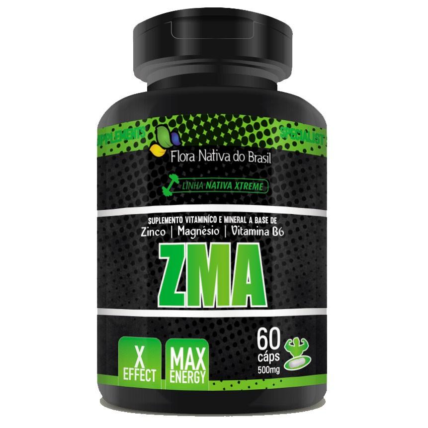 ZMA - Original - 60 cápsulas de 500mg  - LA Nature