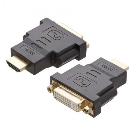 Adaptador DVI Femea X HDMI Macho GOLD ST-HDMI-DMF Generico