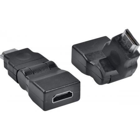 Adaptador HDMI Femea X HDMI Macho 360O AHHF-A360