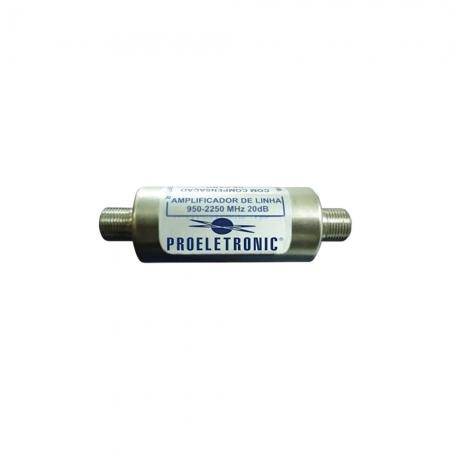 Amplificador de Linha Proeletronic PQAL-2010 20-DB 950-2250 Satel (000003257326)