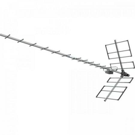 Antena Digital UHF Yagi 18 PROHD1118 Proqualit