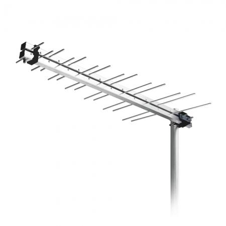 Antena Externa Aquario LU-14 LOG Periodica Digital UHF/ HDTV