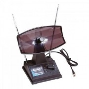 Antena Interna TV com Seletor UHF/VHF/FM TV350 Aquario