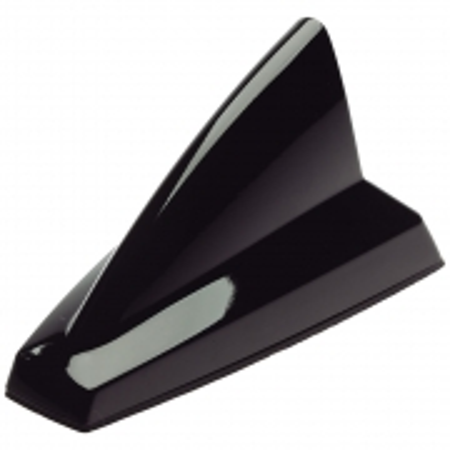 Antena Veicular Olimpus NEW SHARK BLACK de Teto Traseira com Conector Raku