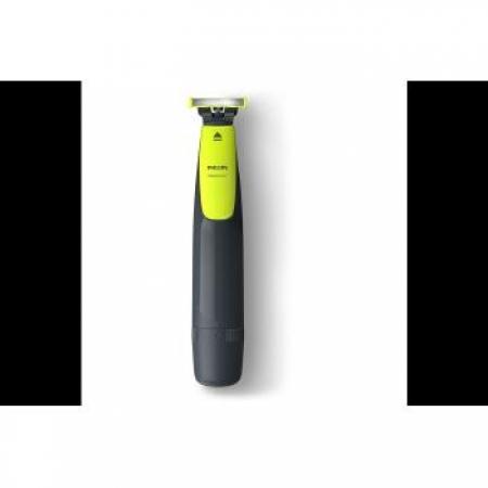 Aparador Philips Pelo Rosto Oneblade QP2510/10 - QP2510/10 Cinza / Verde Bivolt