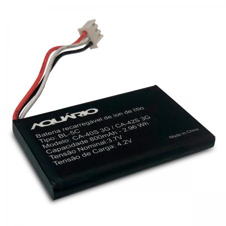Bateria de Lithium para Celular Mesa 3.7V 800MAH CA-42S 3G