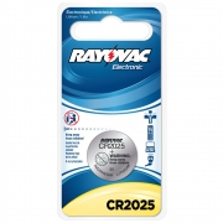 Bateria Lithium Rayovac CR2025BOTAO 3V